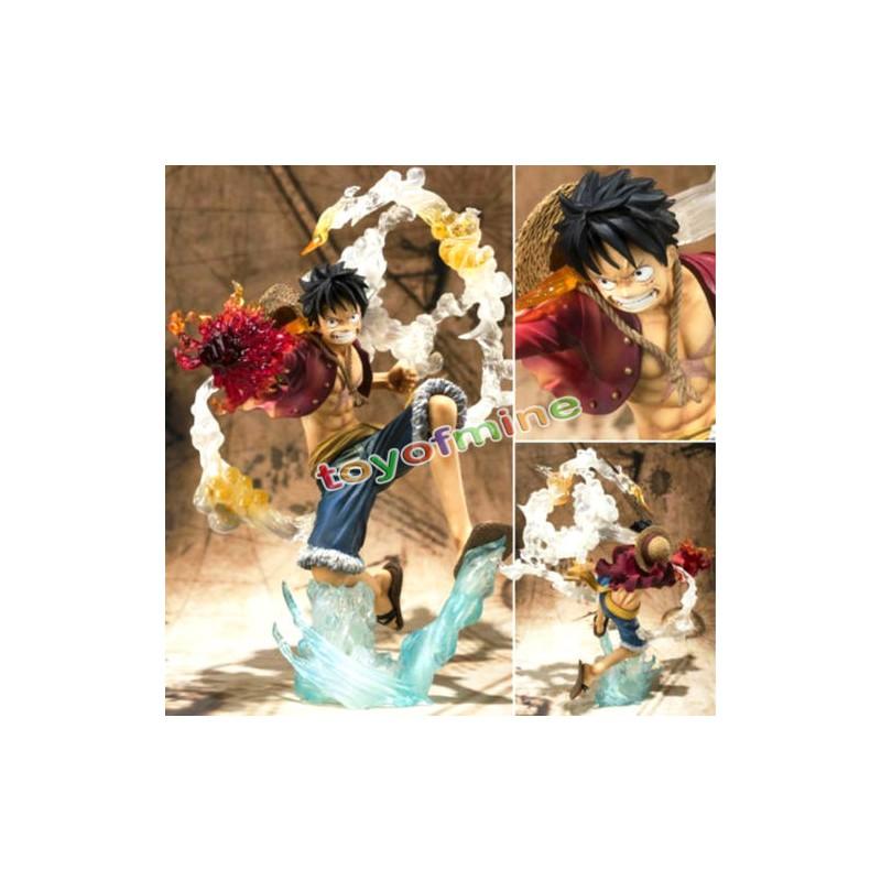 New Pop Monkey D Luffy Battle Ver Figure Japan Anime One Piece Loose